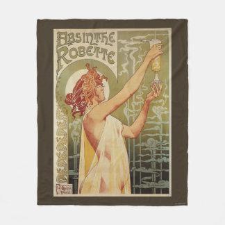 Robette Absinthe Advertisement Poster Fleece Blanket