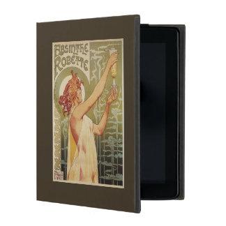 Robette Absinthe Advertisement Poster iPad Folio Case