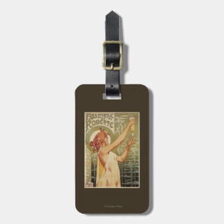Robette Absinthe Advertisement Poster Luggage Tag