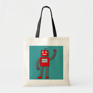 Robi The Retro Robot Bag