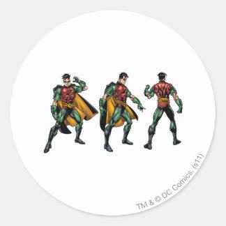 Robin - All Sides Classic Round Sticker