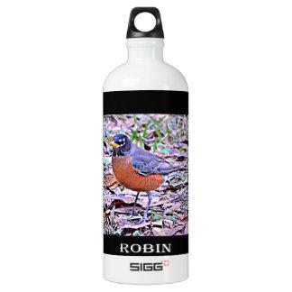 Robin (American Robin) Water Bottle