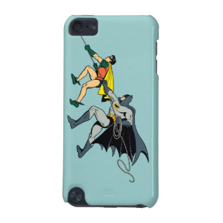 Robin And Batman Climb iPod Touch (5th Generation) Cases