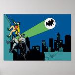 Robin And Batman Climb Posters
