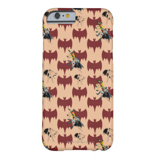 Robin And Batman Climbing Pattern Barely There iPhone 6 Case