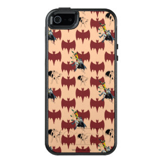 Robin And Batman Climbing Pattern OtterBox iPhone 5/5s/SE Case