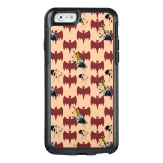Robin And Batman Climbing Pattern OtterBox iPhone 6/6s Case