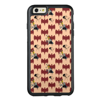 Robin And Batman Climbing Pattern OtterBox iPhone 6/6s Plus Case