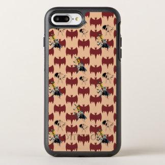 Robin And Batman Climbing Pattern OtterBox Symmetry iPhone 7 Plus Case
