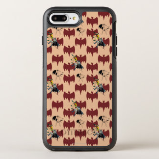 Robin And Batman Climbing Pattern OtterBox Symmetry iPhone 8 Plus/7 Plus Case