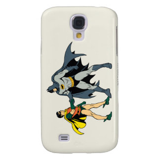 Robin And Batman Handshake Galaxy S4 Case
