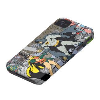 Robin And Batman Handshake iPhone 4 Case-Mate Cases