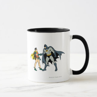 Robin And Batman Handshake Mug