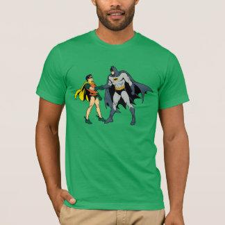 Robin And Batman Handshake T-Shirt