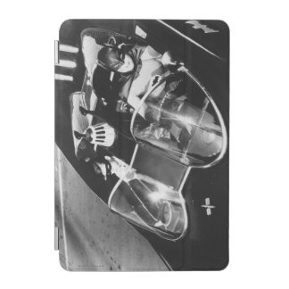 Robin and Batman in Batmobile iPad Mini Cover