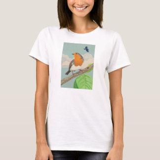 Robin and ladybird T-Shirt