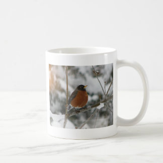 Robin and Snow Coffee Mug