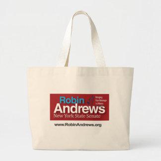 Robin Andrews for New York State Senate Bag