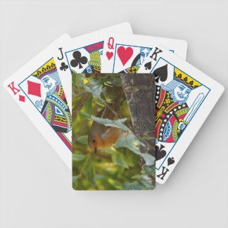 Robin Bicycle Playing Cards