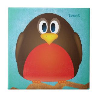 Robin Bird Tile
