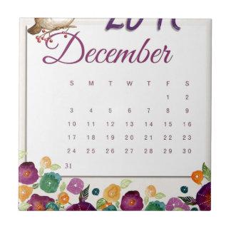 Robin Calendar Tile