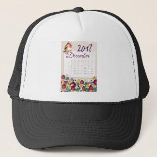 Robin Calendar Trucker Hat