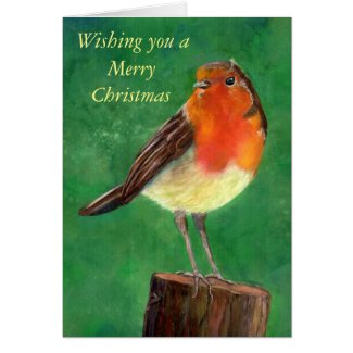 Robin Christmas cards (a422)