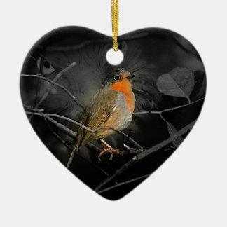 Robin Christmas Ornament
