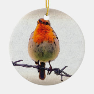 Robin Christmas Ornament