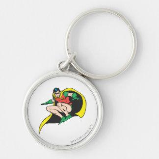 Robin Crouches Key Ring
