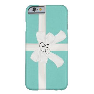 Robin Egg Blue Custom Initial iPhone 6 case