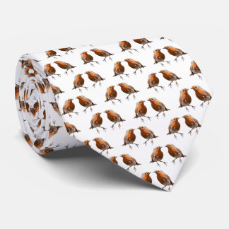 Robin Frenzy Tie (Choose Your Colour)