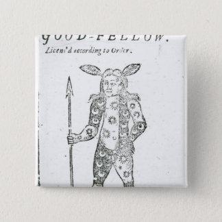 Robin Goodfellow 15 Cm Square Badge