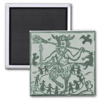 Robin Goodfellow (1629) - green Magnet