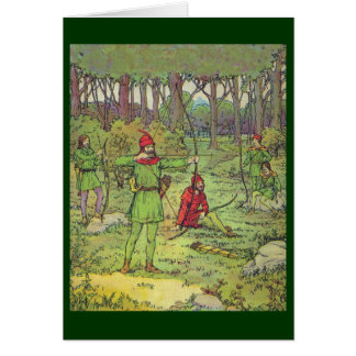 Robin Hood and His Merry Men Greeting Card