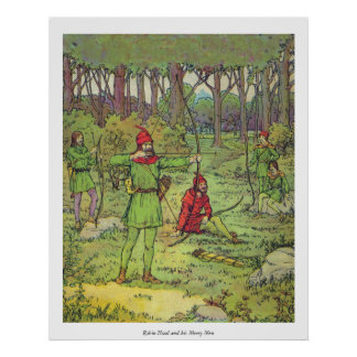 Robin Hood and His Merry Men Poster