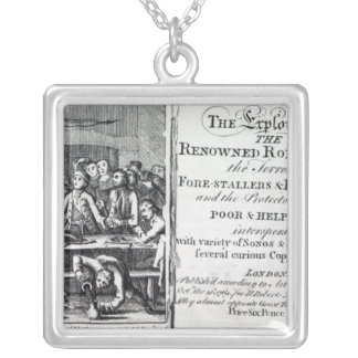Robin Hood and his mother Silver Plated Necklace