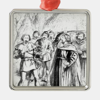 Robin Hood and King Richard I Christmas Ornament