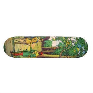 Robin Hood And Little John 19.7 Cm Skateboard Deck