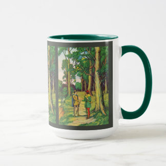 Robin Hood And Little John Mug