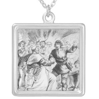 Robin Hood and the Bishop Silver Plated Necklace