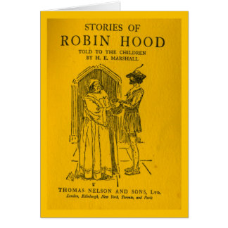 Robin Hood As Told Card