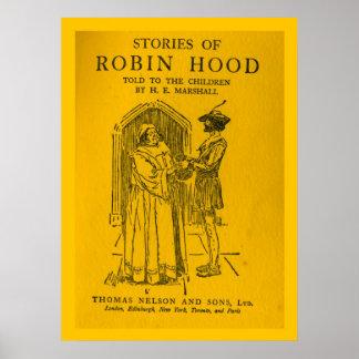 Robin Hood As Told Print