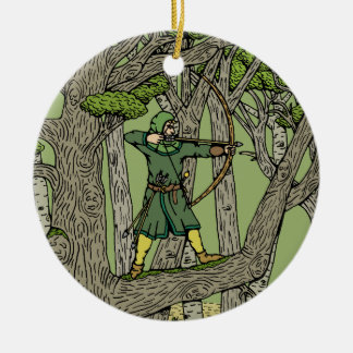 Robin Hood Christmas Ornament