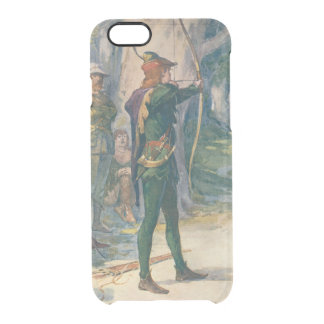 Robin Hood Clear iPhone 6/6S Case