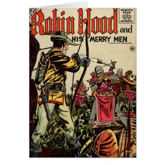 Robin Hood Comic Book Card