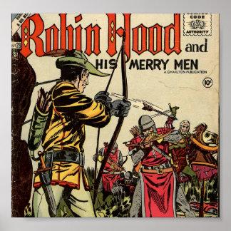 Robin Hood Comic Book Poster