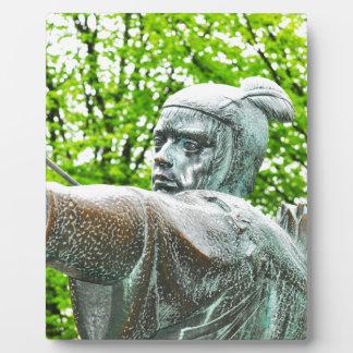 Robin Hood Display Plaque