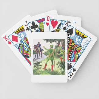 Robin Hood, from 'Peeps into the Past', published Bicycle Playing Cards