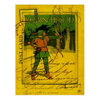 Robin Hood, His Bow and Arrow Postcard